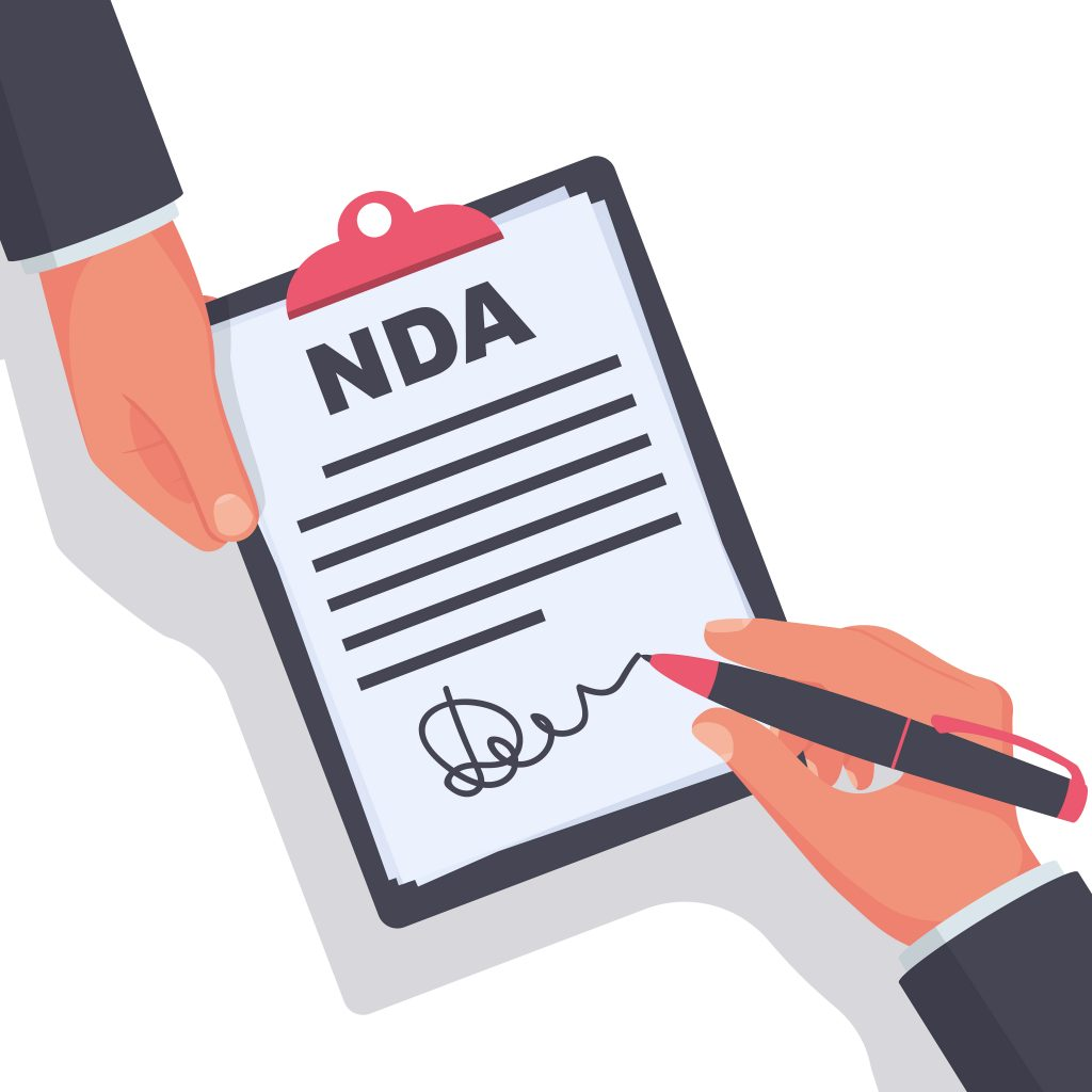 NDAs non disclosure agreements policy for solicitors